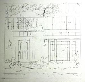 Penciled Architectural