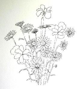 Daisy inked