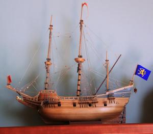 My boat - Henry Hudson's Half Moon