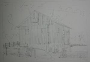 Barn drawing