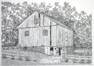 The inked barn