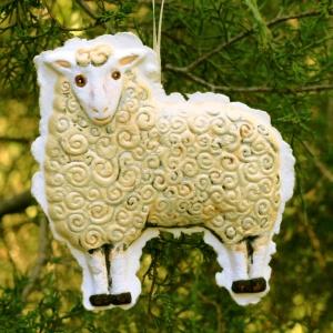 Ewe ornament