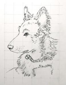 Pen/pencil drawing
