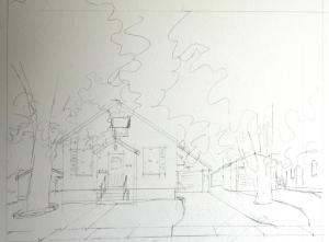 One of the House Pencils