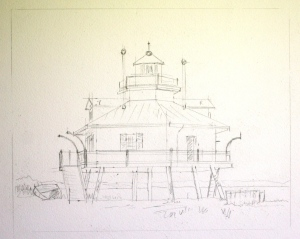 A Marine Museum Drawing