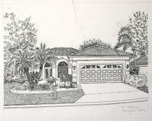 Inked Florida house