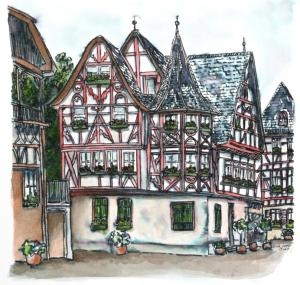 German streetscap