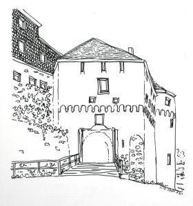 Castle entry inkied